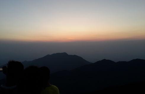 衡山南岳v帐篷帐篷,搭攻略上祝融峰观景台看夕西安旅游攻略2天穷游图片