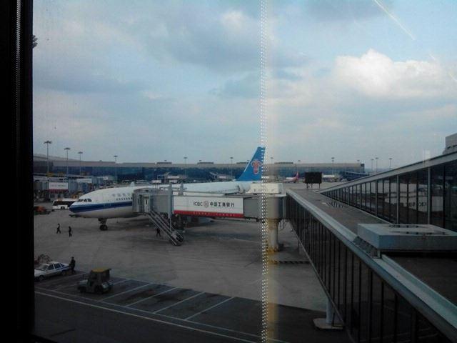 出发回广州了,谁说坐飞机不可以说一路顺风的,我们比原定提早了半个