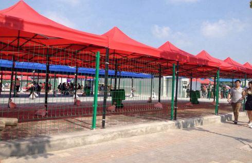 幼儿园美食节帐篷装饰图