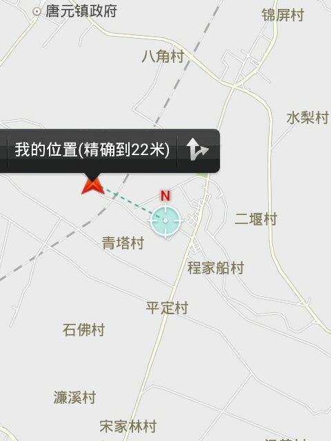 2016郫县长征驾校考场平面图_