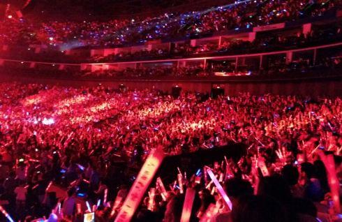 梅赛德斯 奔驰文化中心 2014左麟右李十周年上海演唱会 高清图片