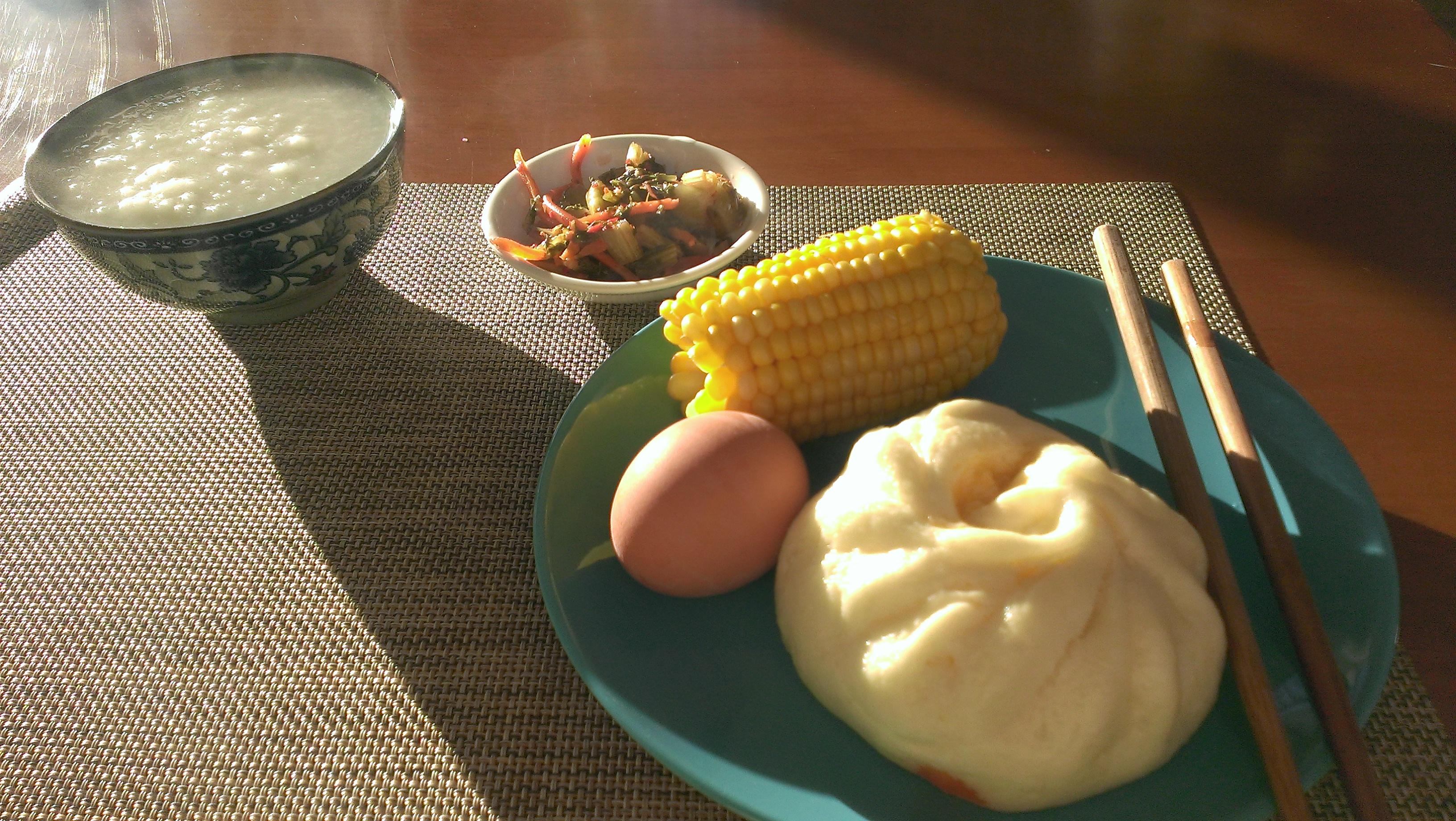 第一天的中式早餐