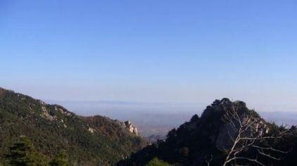 徂徕山是世界地质公园,国家森林公园,国家aaa级旅游景区.