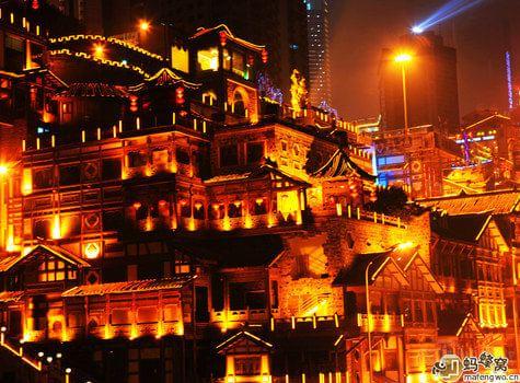 赏夜景,游渝城 重庆夜景那些不得不说的故事图片