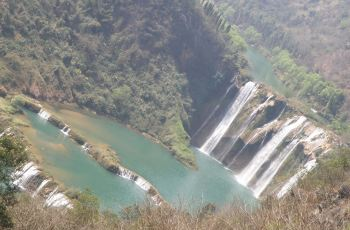 九龙瀑布群风景区高清图片