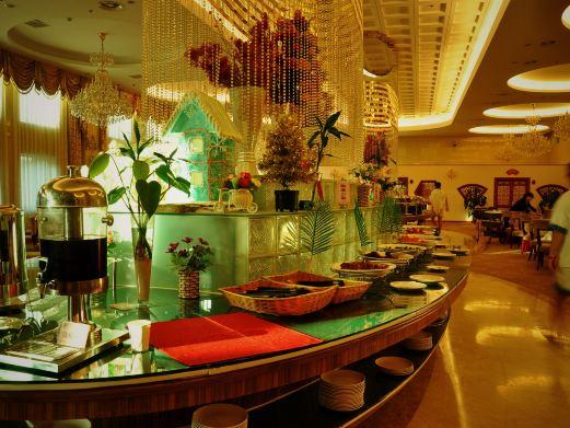 隆鹤国际温泉酒店温泉图片