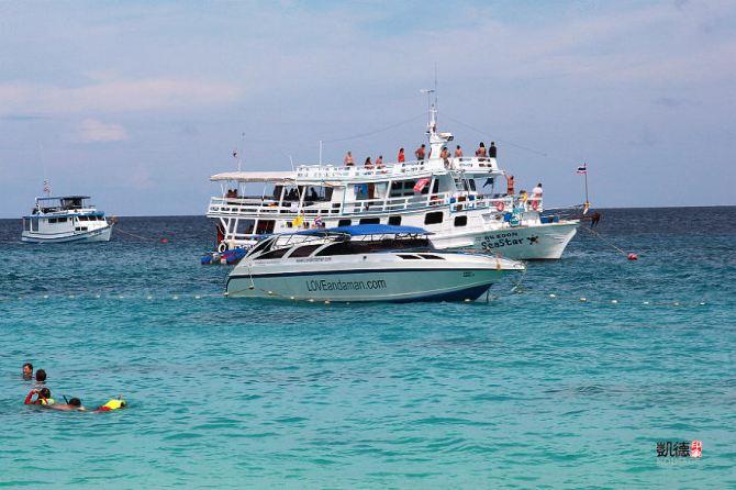 在斯米兰群岛3日游记偶遇海龟,在泰国jw万豪看水灯节