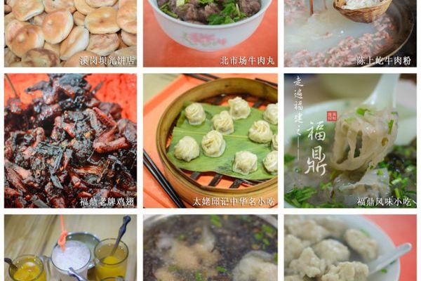 丁susu 手绘福鼎美食地图
