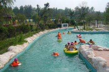 黄河谷 马拉湾海浪浴场