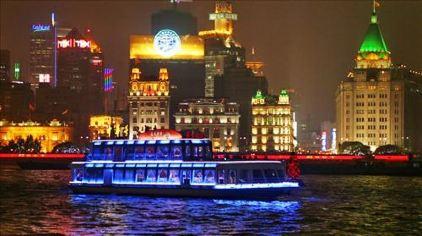 """黄浦江""""清游江""""游览船"""