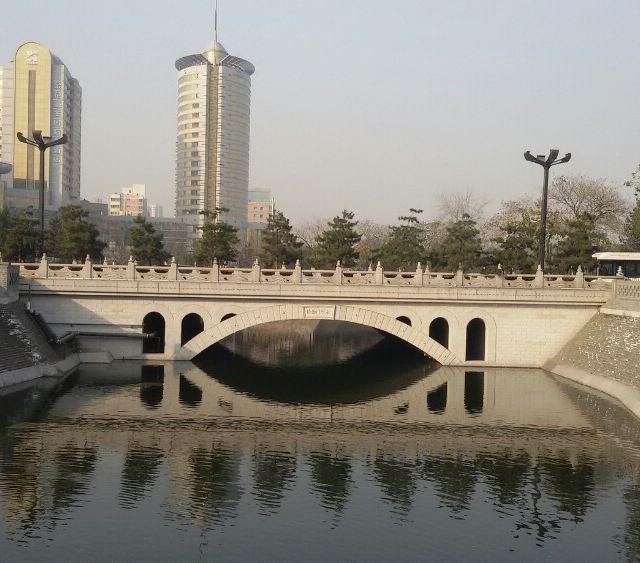 手绘西安城外景点地图