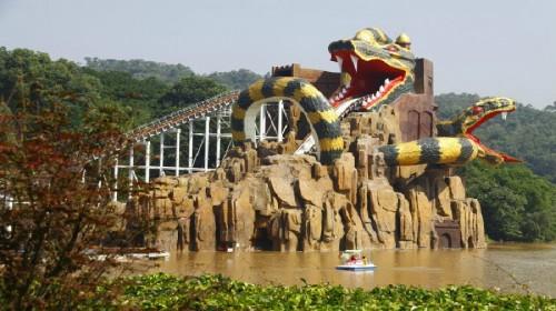 (欢乐世界 野生动物园) 双人乐和乐都水上乐园体验票【景区内主题酒店