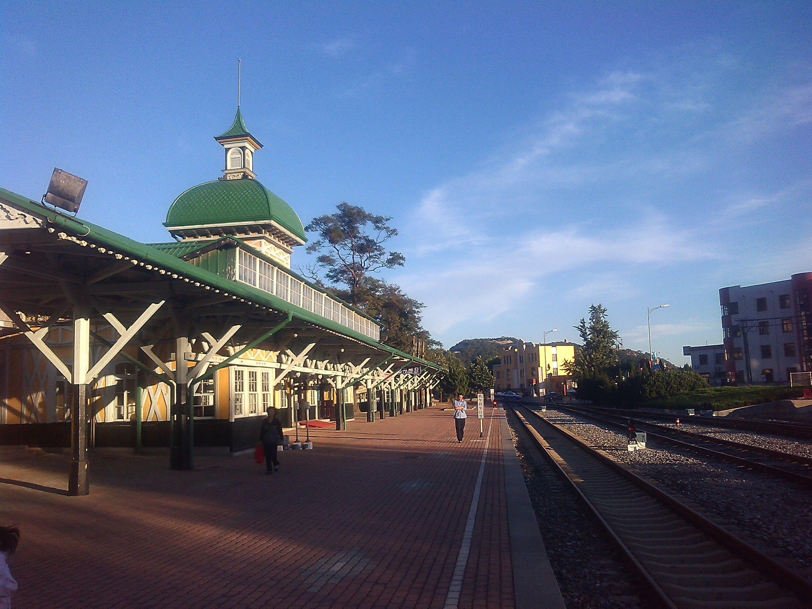 旅顺火车站站台