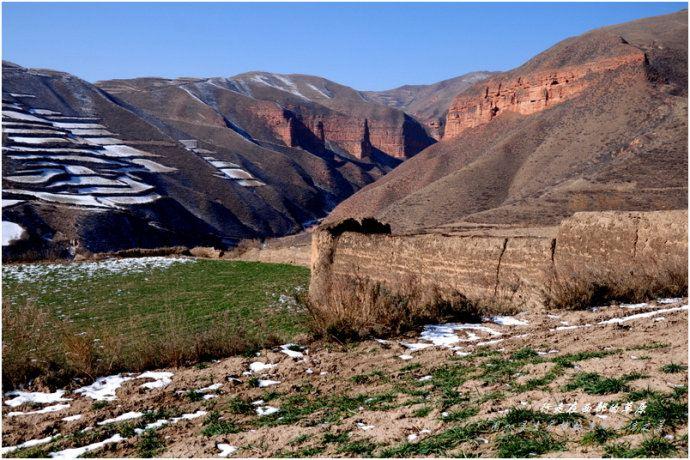 【加游站】冬天的穿越.冶力关.徒步赤壁幽谷-自助游攻略白水洋图片
