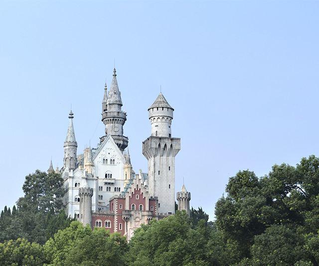 超女快男们住过的城堡