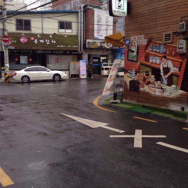 韩国街角风景图