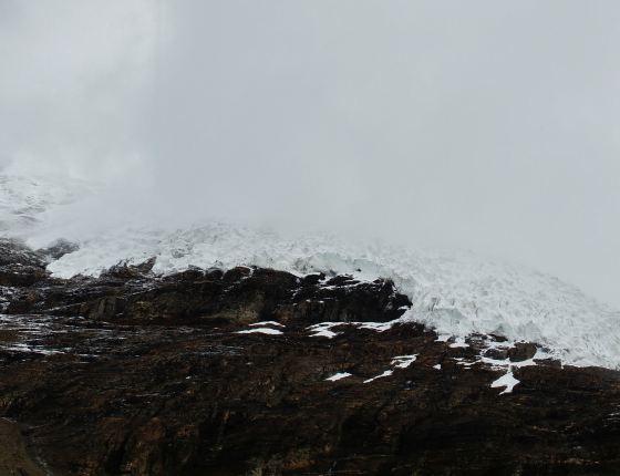 高清手机壁纸风景灰色冰川