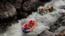 黄山徽州大峡谷景区划分为源芳急速漂流