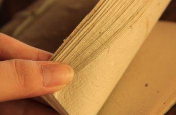 """造纸原料为桑科植物构树的树皮,造纸工艺完整保留了造纸术发明初期的"""""""