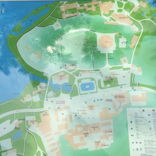 继续利用百度地图,查找公交转战雷峰塔.