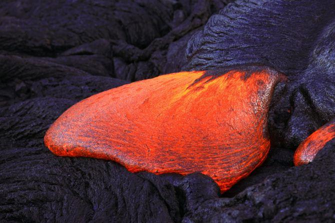 熔岩的样子动物的