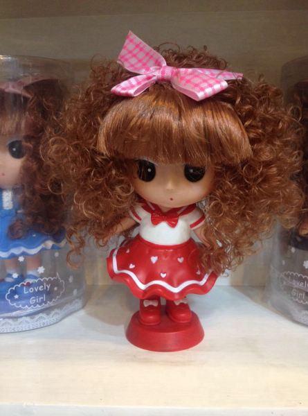 好可爱的娃娃,么么嗒