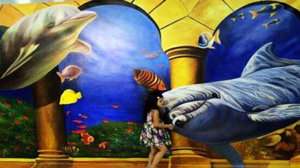 3d魔幻艺术展览包括世界名画,立体魔幻,无疆界动物,大冒险,搞笑主题等