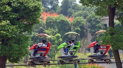 长沙生态动物园游乐场