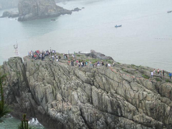 浙江温州洞头自由行仙叠岩