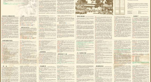 徒步苏州—在《苏州手绘地图》上的秘密