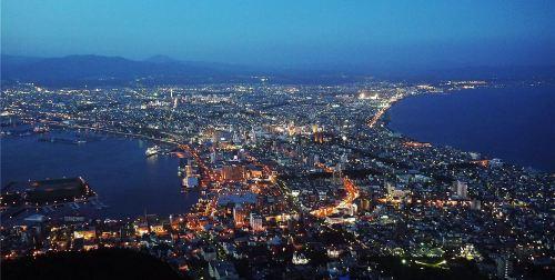 日本北海道 东京7日公司旅游(4钻)· 函馆夜景