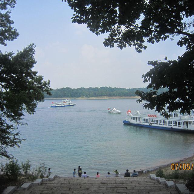 南湾湖风景区 南湾湖茶岛