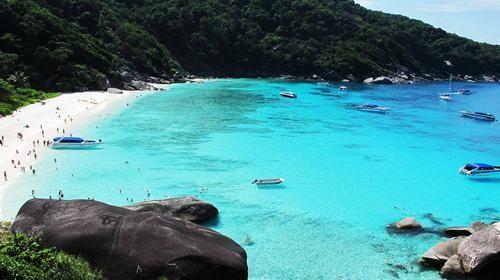 斯米兰群岛图片