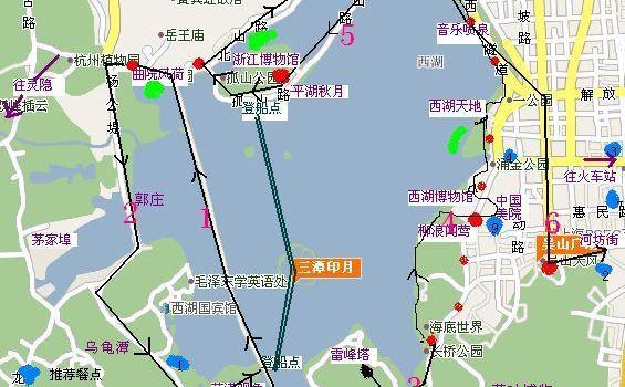 夏日西湖行程图|杭州游记-携程旅行