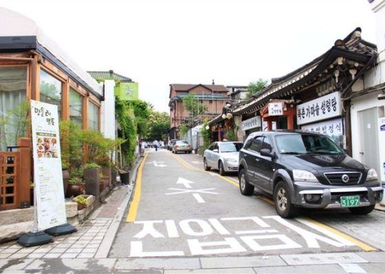 风居住的街道--盘点首尔最韩国风情的街道美景图片