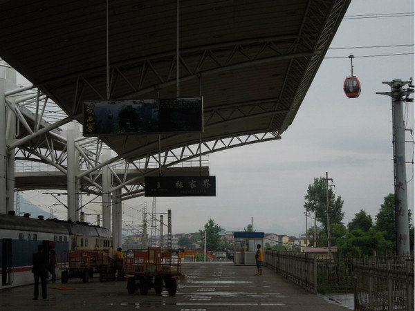 长沙火车站手绘