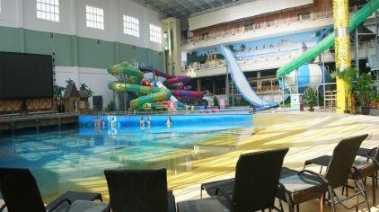 锦州九华山温泉水城 含自助餐 凌海花园酒店