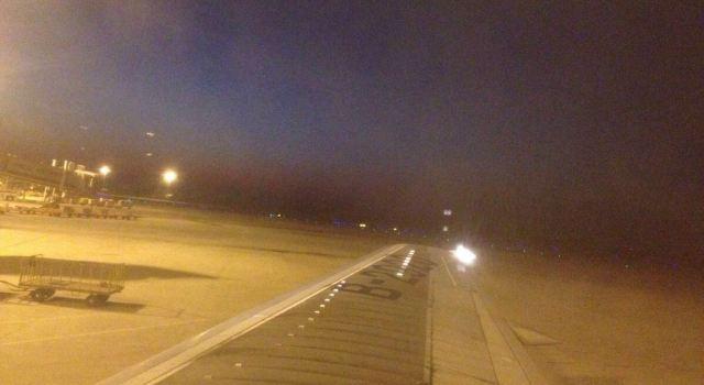 2013-12-30 17:45飞机降落在合肥机场,机场有直达蚌埠