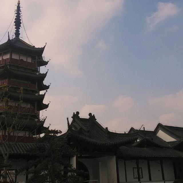 文峰塔,南通的标志性建筑物啦