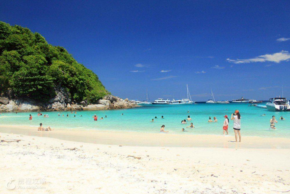 泰国普吉岛 甲米 皮皮岛6日跟团游 4钻 挚爱普甲米 全程包自费 人妖 泰