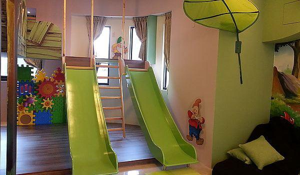 溜滑梯民宿,让大人与小孩都疯狂的亲子民宿
