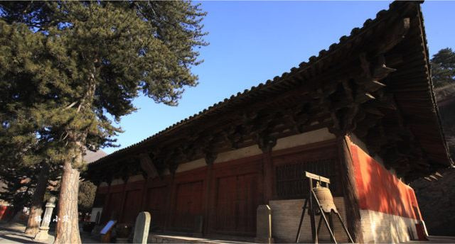 古松现代重木结构建筑