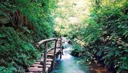 自然景点_灵寿水泉溪自然风景区