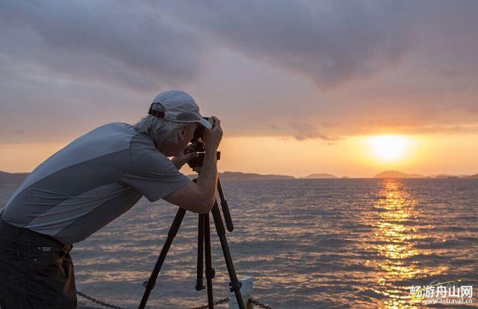 与老外摄影师相遇在莲花洋边-舟山攻略游记甑攻略岛图片
