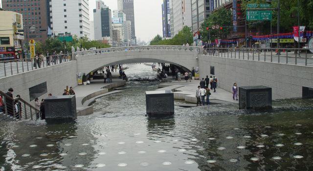清溪川桥梁
