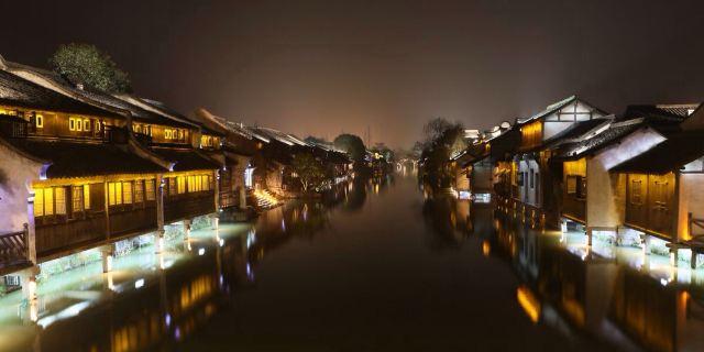 手绘明信片美食自由行小资 关于我对杭州的一见钟情以及西塘乌镇的