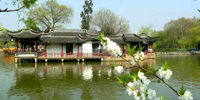 扬州瘦西湖景区_乐乐简笔画