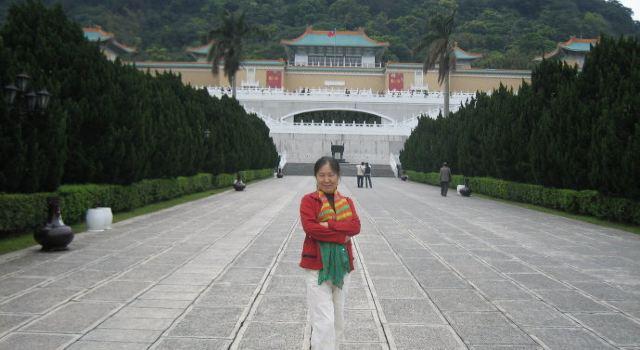 孙文公园大门入口手绘图