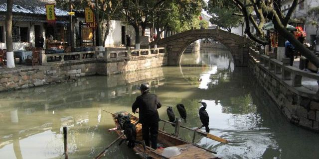 苏州河十八景手绘作品