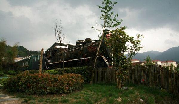 村庄景墙效果图